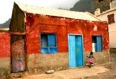 Cape Verdean house Royalty Free Stock Photos