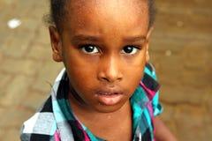 Cape Verdean little girl Royalty Free Stock Photo