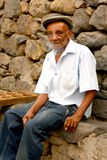 Cape Verdean old man Royalty Free Stock Photo