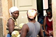 Cape Verdean women Stock Photography
