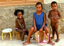 Cape Verdeans children Stock Images