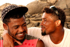 Cape Verdeans men Royalty Free Stock Photography