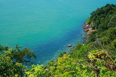 Cape View. A beautiful view side of  Cape Rachado Royalty Free Stock Images