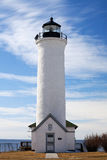 Cape Vincent Lighthouse on Tibbets Point Royalty Free Stock Image