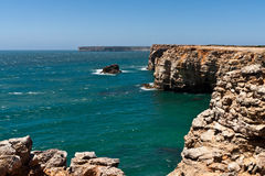 Cape Vincente in Portugal Stock Images