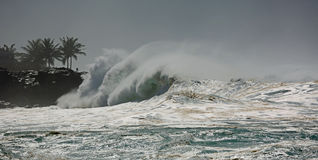 Cape and wave Stock Photos