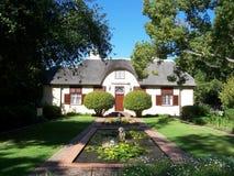 Cape winelands vergelegen SA stock photography