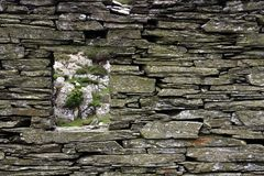 Capel Curig Slate Quarry Royalty Free Stock Images