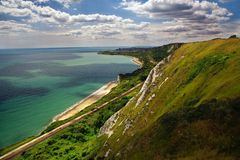 Capel Le Ferne. Is a small village in folkestone UK Stock Photography