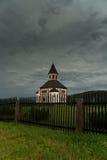 Capela após a tempestade Foto de Stock Royalty Free