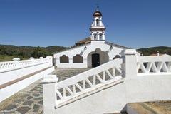 Capela branca em honra do Virgin Eulalia, a Andaluzia Imagem de Stock