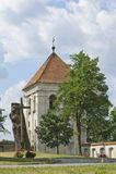 Capela católica pequena no Polônia Foto de Stock Royalty Free