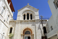 Capela católica polonesa, Jerusalém. Imagens de Stock Royalty Free
