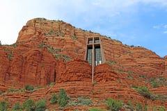 A capela da cruz santamente Fotografia de Stock