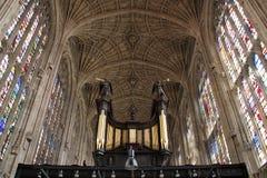 Capela da faculdade do rei Imagens de Stock Royalty Free