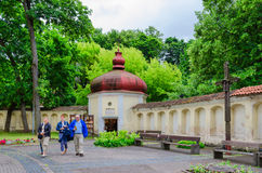 Capela da igreja de apóstolos santamente Peter e Paul, Vilnius Fotos de Stock Royalty Free
