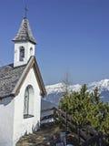 Capela da montanha em Tirol Fotos de Stock