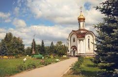 A capela da natividade de Cristo em Togliatti Fotografia de Stock Royalty Free