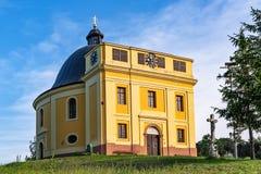 Capela da paz onde o Tratado de Karlowitz foi negociado em Sremski Karlovci Aquele era si fotografia de stock