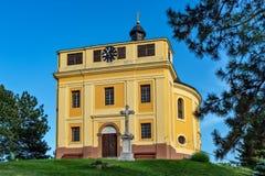 Capela da paz onde o Tratado de Karlowitz foi negociado em Sremski Karlovci Aquele era si fotografia de stock royalty free