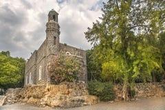 Capela da primazia de Peter, Tabgha, Israel Imagem de Stock Royalty Free