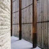 Capela da reconciliação, Berlin Wall Memorial Park, Berlim, Alemanha Imagem de Stock Royalty Free