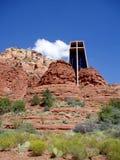Capela da rocha Imagem de Stock