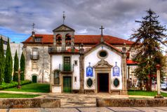 Capela das Almas在维亚纳堡区,葡萄牙 免版税库存图片