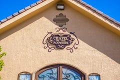 A capela das flores Las Vegas Nevada Imagem de Stock