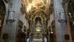 Capela de Санта-Катарина при люди моля видеоматериал