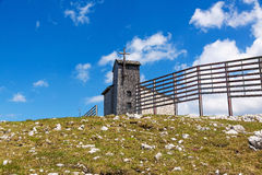 Capela de Dachstein Foto de Stock