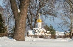 Capela de Dukhovskaya no monastério de Borisoglebsky Foto de Stock