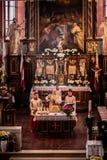 Capela de Guegel na Páscoa segunda-feira 2015 Imagens de Stock Royalty Free