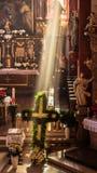 Capela de Guegel na Páscoa segunda-feira 2015 Imagem de Stock Royalty Free