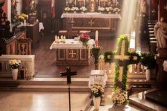 Capela de Guegel na Páscoa segunda-feira 2015 Foto de Stock