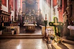 Capela de Guegel na Páscoa segunda-feira 2015 Fotos de Stock Royalty Free
