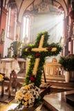Capela de Guegel na Páscoa segunda-feira 2015 Foto de Stock Royalty Free