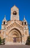 A capela de Jak no castelo de Vajdahunyad é um chuch católico de funcionamento, situado em Budapest Foto de Stock