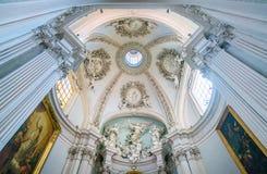 Capela de Lancellotti por Giovanni Antonio de Rossi, na basílica de Saint John Lateran em Roma imagem de stock royalty free