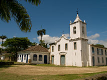 Capela de Nossa Senhora das Dores, Brazil. One of four historical churches in Paraty, Brazil Stock Image