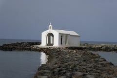 A capela de São Nicolau Georgioupolis crete Imagem de Stock