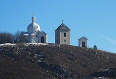 Capela de Saint Sebastian em Mikulov Fotografia de Stock