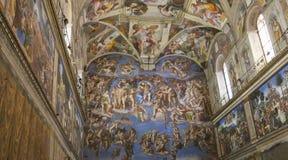 A capela de Sistine Fotografia de Stock