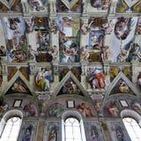 Capela de Sistine - Vaticano Foto de Stock