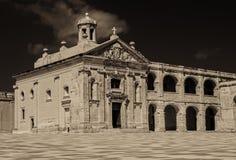 A capela de St Anthony de Pádua em Malta no tom do sepia imagem de stock royalty free