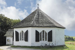 A capela de Vitt na ilha de Ruegen fotos de stock royalty free
