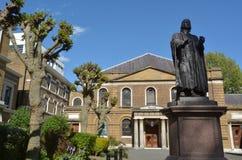 A capela de Wesley e a missão Londres Reino Unido de Leysian Fotos de Stock