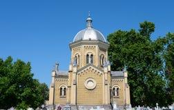 Capela do cemitério da cidade de Timisoara Imagens de Stock Royalty Free