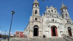 Capela do coração sagrado Granada Nicarágua fotos de stock royalty free