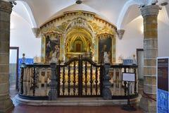 Capela do dos Ossos de Capela dos ossos, Portugal Imagens de Stock Royalty Free